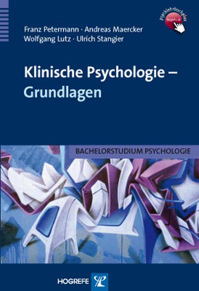 Klinische Psychologie – Grundlagen - Coverbild