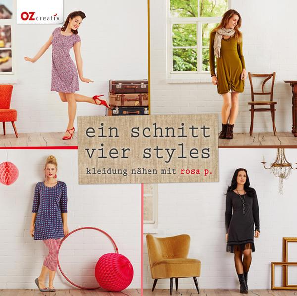 Ein Schnitt - vier Styles - Coverbild