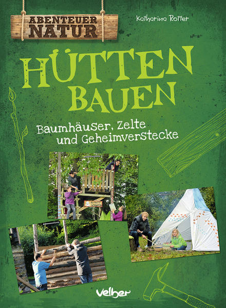 Hütten bauen - Coverbild