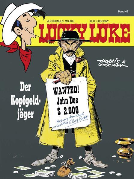 Lucky Luke 43 - Coverbild
