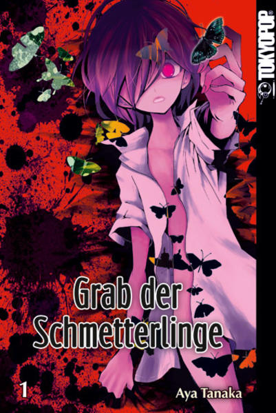 Grab der Schmetterlinge 01 - Coverbild