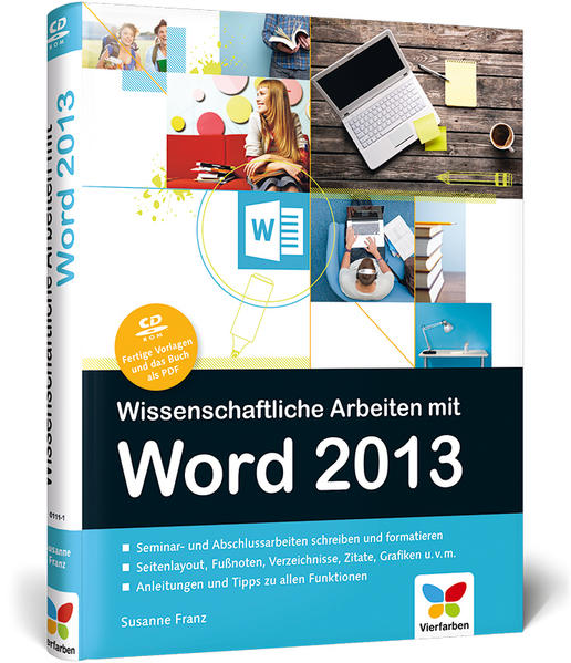 Wissenschaftliche Arbeiten mit Word 2013 - Coverbild