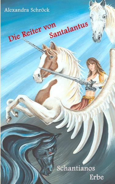 Die Reiter von Santalantus - Coverbild