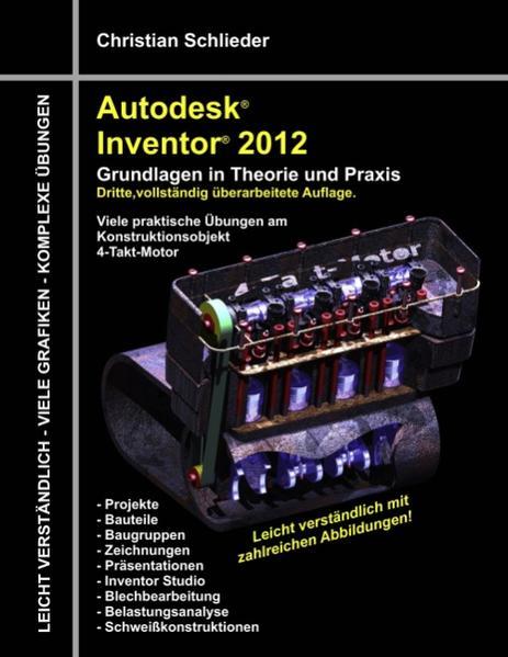 Autodesk Inventor 2012 - Grundlagen in Theorie und Praxis - Coverbild