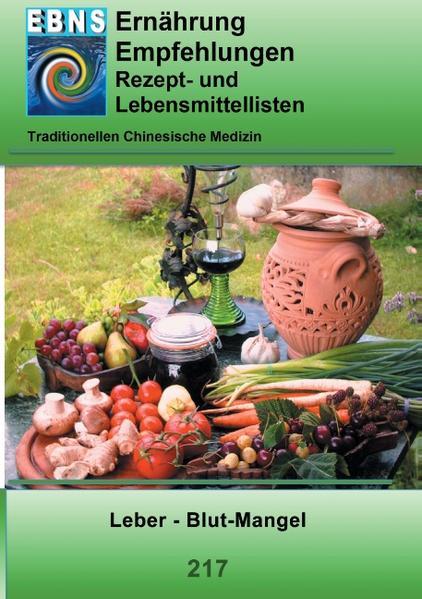 Ernährung -TCM - Leber - Blut-Mangel - Coverbild