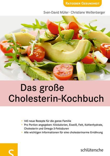 Das große Cholesterin-Kochbuch - Coverbild