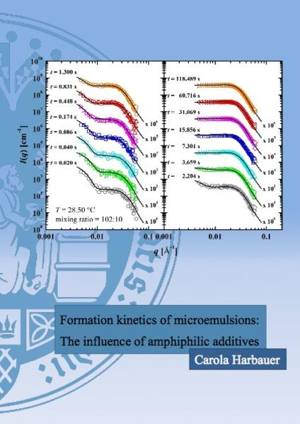 Formation kinetics of microemulsions: The influence of amphiphilic additives - Coverbild