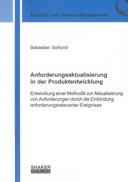 Anforderungsaktualisierung in der Produktentwicklung - Coverbild