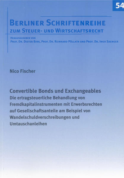 Convertible Bonds und Exchangeables - Coverbild