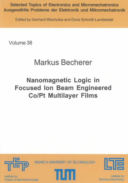 Nanomagnetic Logic in Focused Ion Beam Engineered Co/Pt Multilayer Films - Coverbild