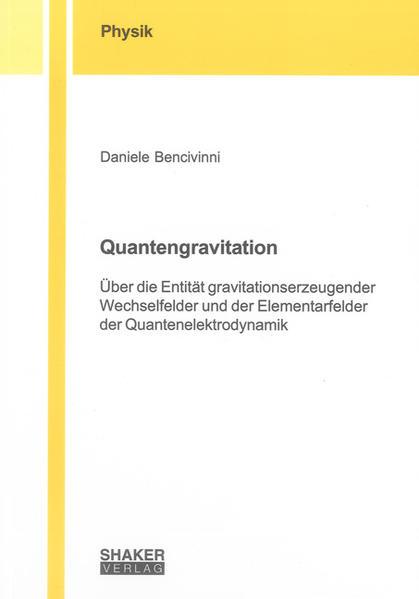 Quantengravitation - Coverbild
