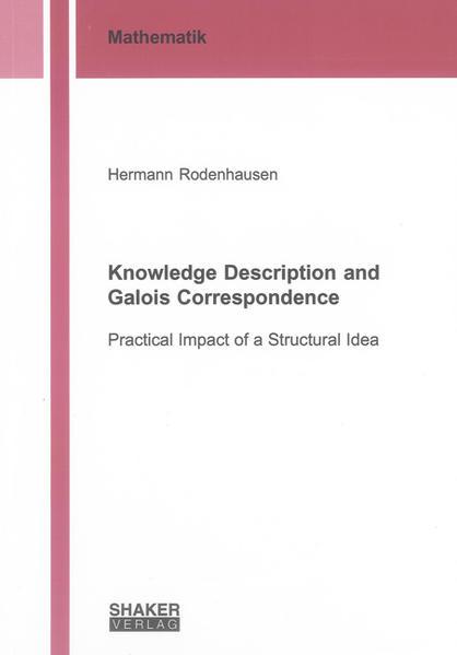 Knowledge Description and Galois Correspondence - Coverbild