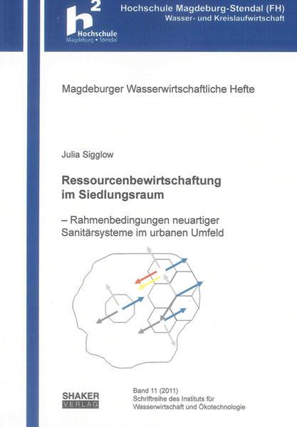 Ressourcenbewirtschaftung im Siedlungsraum - Coverbild