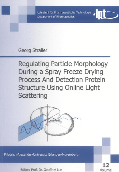 Regulating Particle Morphology During a Spray Freeze Drying Process And Detection Protein Structure Using Online Light Scattering - Coverbild
