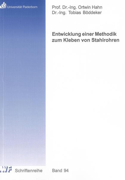 Entwicklung einer Methodik zum Kleben von Stahlrohren - Coverbild