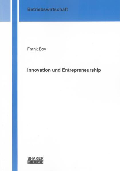 Innovation and Entrepreneurship - Coverbild