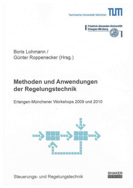 Methoden und Anwendungen der Regelungstechnik - Coverbild