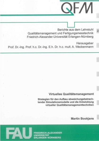 Virtuelles Qualitätsmanagement - Coverbild