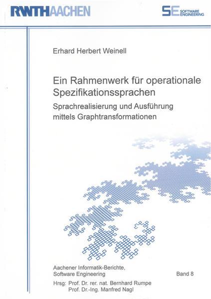 Ein Rahmenwerk für operationale Spezifikationssprachen - Coverbild
