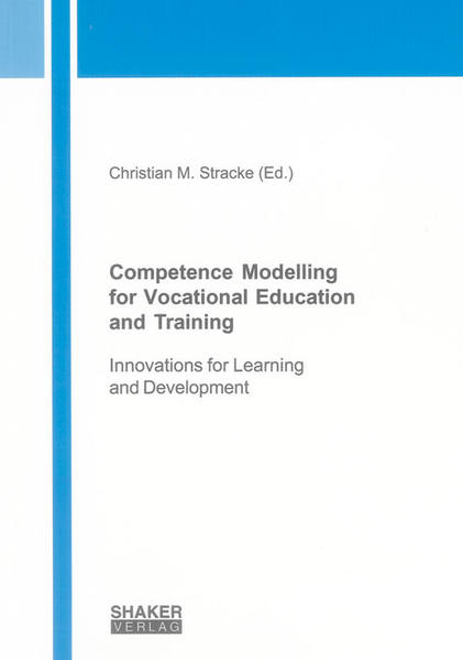 Competence Modelling for Vocational Education and Training - Coverbild