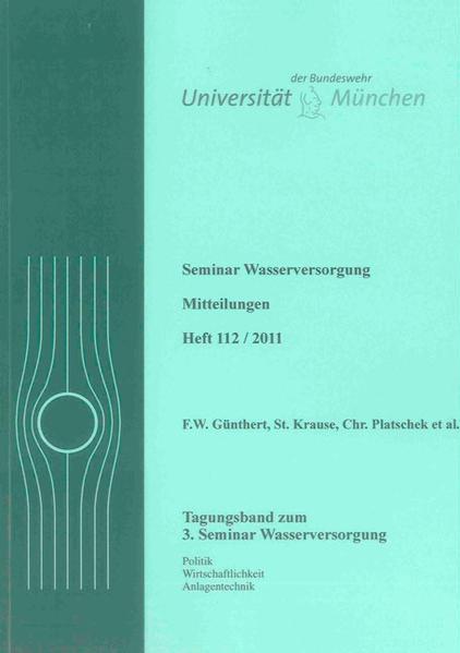 3. Seminar Wasserversorgung - Coverbild