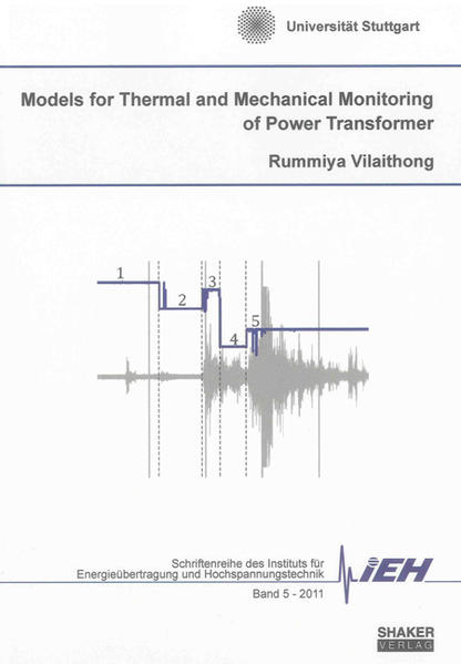 Models for Thermal and Mechanical Monitoring of Power Transformers - Coverbild