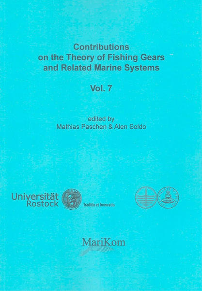 Contributions on the Theory of Fishing Gears and Related Marine Systems Vol. 7 - Coverbild