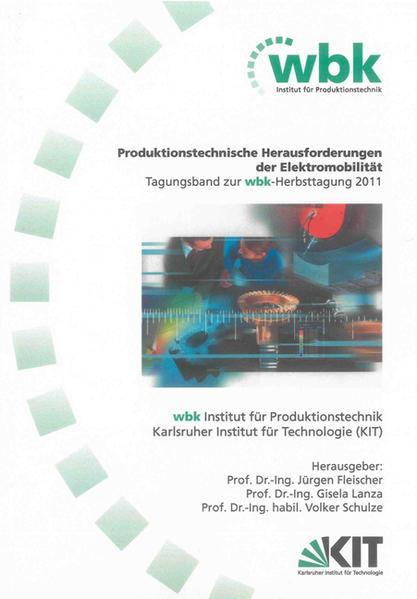 Produktionstechnische Herausforderungen der Elektromobilität - Coverbild