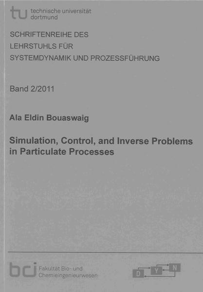 Simulation, Control, and Inverse Problems in Particulate Processes - Coverbild