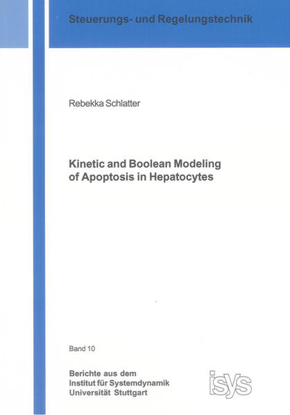 Kinetic and Boolean Modeling of Apoptosis in Hepatocytes - Coverbild