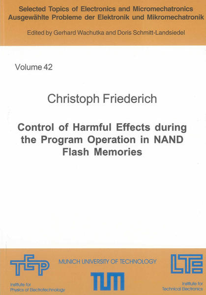 Control of Harmful Effects during the Program Operation in NAND Flash Memories - Coverbild