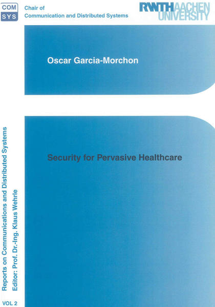 Security for Pervasive Healthcare - Coverbild