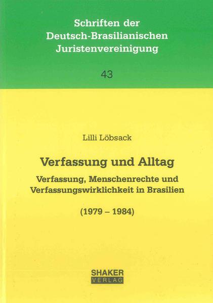 Verfassung und Alltag - Coverbild