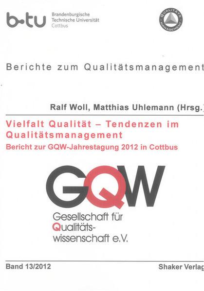 Vielfalt Qualität – Tendenzen im Qualitätsmanagement - Coverbild