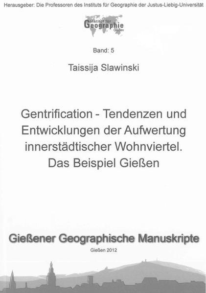 Gentrification - Coverbild