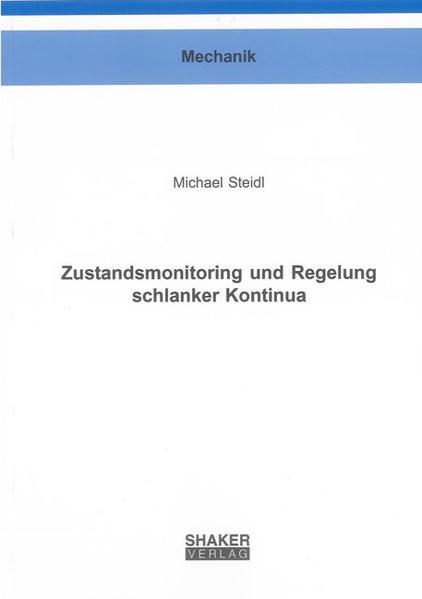 Zustandsmonitoring und Regelung schlanker Kontinua - Coverbild