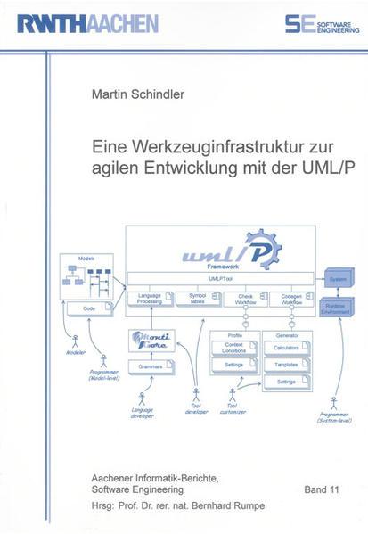 Eine Werkzeuginfrastruktur zur agilen Entwicklung mit der UML/P - Coverbild