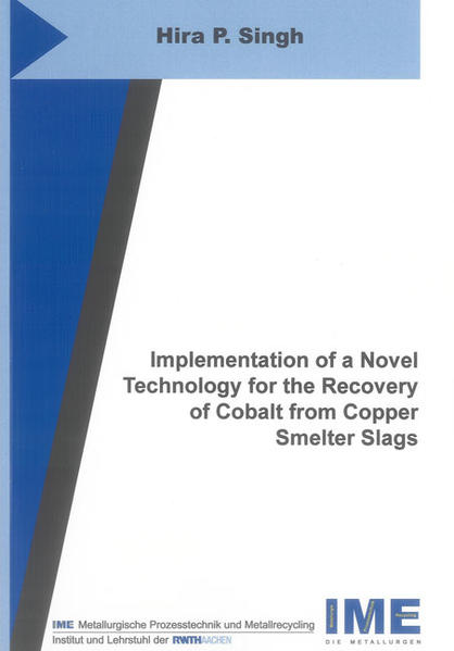 Implementation of a Novel Technology for the Recovery of Cobalt from Copper Smelter Slags - Coverbild