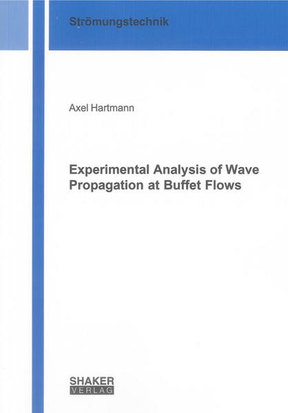 Experimental Analysis of Wave Propagation at Buffet Flows - Coverbild