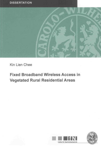 Fixed Broadband Wireless Access in Vegetated Rural Residential Areas - Coverbild