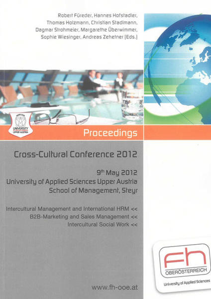 Cross-Cultural Conference 2012 - Coverbild