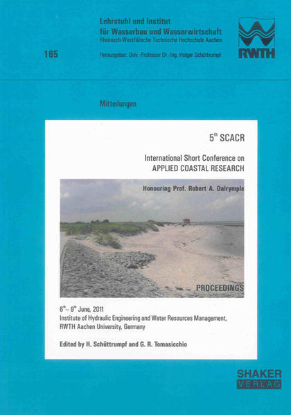 5th SCACR – International Short Conference on APPLIED COASTAL RESEARCH - Coverbild