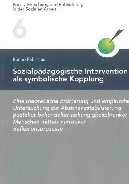 Sozialpädagogische Intervention als symbolische Kopplung - Coverbild