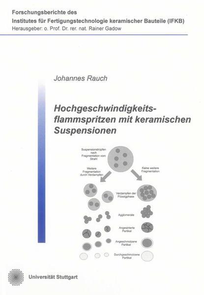 Hochgeschwindigkeitsflammspritzen mit keramischen Suspensionen - Coverbild