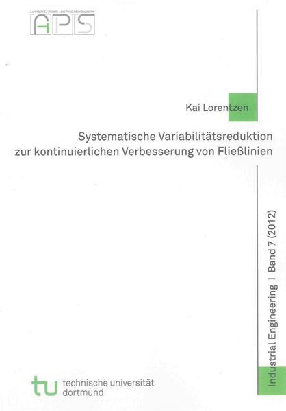 Systematische Variabilitätsreduktion zur kontinuierlichen Verbesserung von Fließlinien - Coverbild