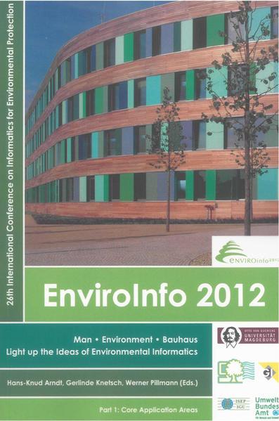 EnviroInfo 2012 - Coverbild