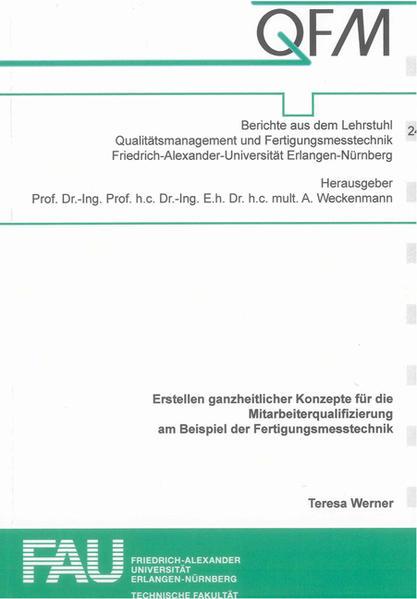 Erstellen ganzheitlicher Konzepte für die Mitarbeiterqualifizierung am Beispiel der Fertigungsmesstechnik - Coverbild