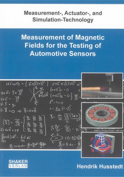Measurement of Magnetic Fields for the Testing of Automotive Sensors - Coverbild
