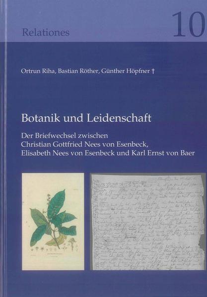 Botanik und Leidenschaft - Coverbild