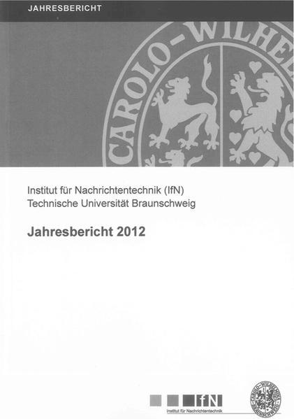Jahresbericht 2012 - Coverbild